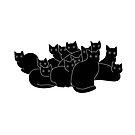 Cat gang by KisaSunrise