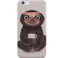 Sloth I♥yoga iPhone Case/Skin