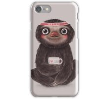 Sloth I♥yoga iPhone Case/Skin