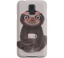 Sloth I♥yoga Samsung Galaxy Case/Skin