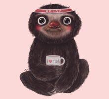 Sloth I♥yoga One Piece - Short Sleeve