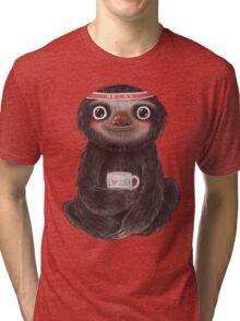 Sloth I♥yoga Tri-blend T-Shirt
