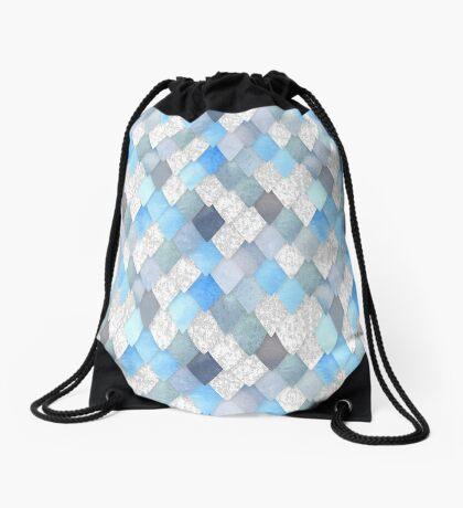 Ice Dragon Drawstring Bag