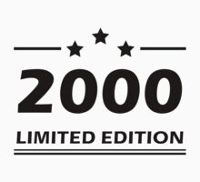 2000 LIMITED EDITION by tonyshop