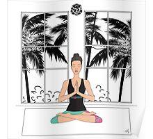 Yoga Girl.. Poster