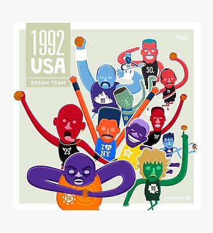NBAlien Dream Team Photographic Print