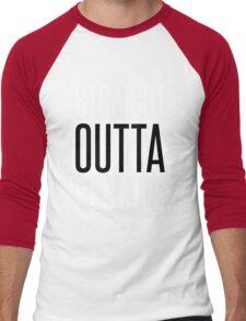 STRAIGHT OUTTA PENCILS Men's Baseball ¾ T-Shirt