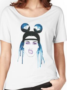Adore Delano Watercolor Women's Relaxed Fit T-Shirt