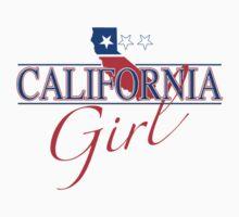 California Girl - Red, White & Blue Graphic T-Shirt