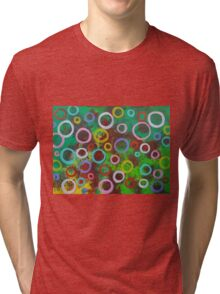 Playing With Soap In The Park Tri-blend T-Shirt