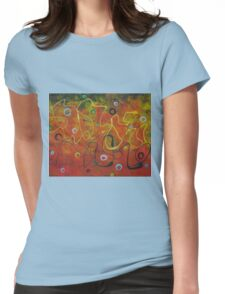 Fire And Soap Womens Fitted T-Shirt