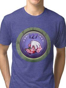 Glitch Achievement masterful fruit tree pettifier Tri-blend T-Shirt