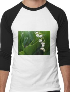 Lily of the Valley 2 Men's Baseball ¾ T-Shirt