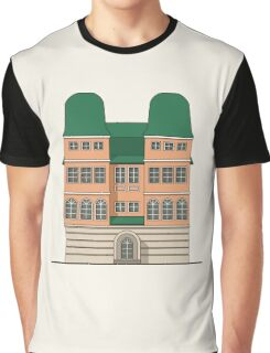Brick house with towers Graphic T-Shirt