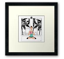 Yoga Girl... Framed Print