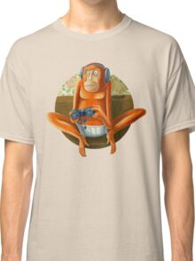 Monkey play Classic T-Shirt