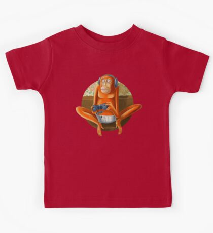 Monkey play Kids Tee