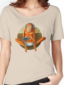 Monkey play Women's Relaxed Fit T-Shirt