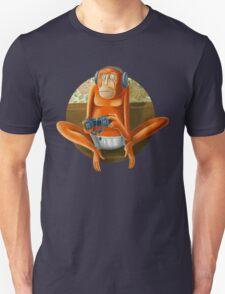 Monkey play Unisex T-Shirt