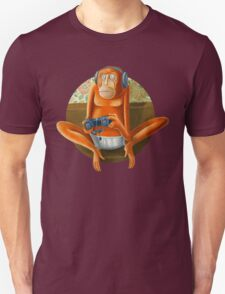 Monkey play Unisex T-Shirt