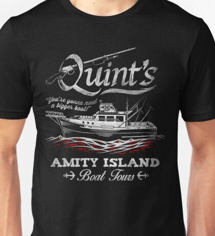 Quint's Boat Tours Unisex T-Shirt