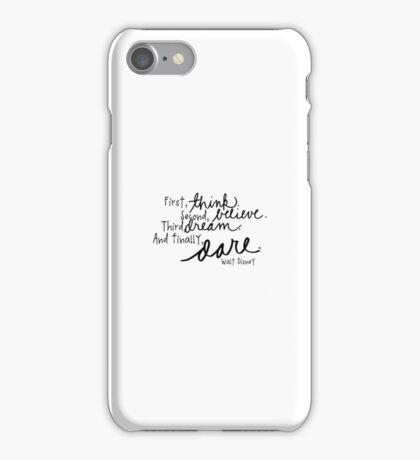Disney Quote iPhone Case/Skin