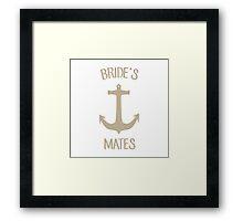 Bride's Mates Framed Print