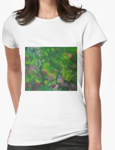 Greens Womens Fitted T-Shirt