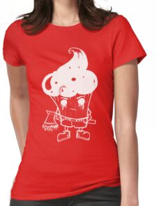 The Dark Muffin Man - by Mien Wayne Womens Fitted T-Shirt