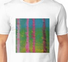 Birch Trees In The Wind Unisex T-Shirt