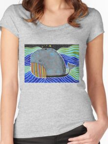 Save The Whale Women's Fitted Scoop T-Shirt