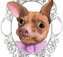 Tuna melts my heart like a sir by PaperTigressArt
