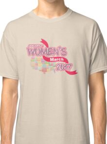 Million Women´s March 2017 - Women´s Rights Classic T-Shirt