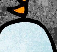 cute cartoon penguin doodle Sticker
