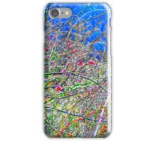 Abstract Winter iPhone Case/Skin