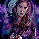 Amy Pond by David Atkinson