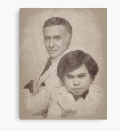 Ricardo Montalban and Herve Villechaize, Fantasy Island Canvas Print