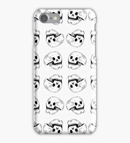 Skulls - No Bones About It iPhone Case/Skin