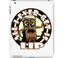All I Ever Get Is LIP in Yellow iPad Case/Skin