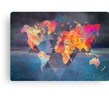 world map 32 sacred Canvas Print