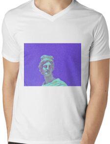 Vaporwave Design Mens V-Neck T-Shirt