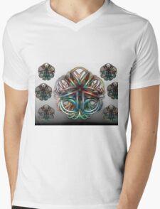 Glass Blossoms Mens V-Neck T-Shirt