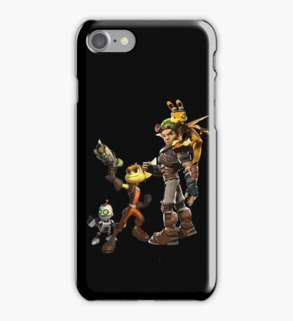 Jak and Daxter and Ratchet and Clank  iPhone Case/Skin