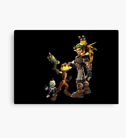 Jak and Daxter and Ratchet and Clank  Canvas Print