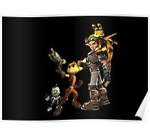 Jak and Daxter and Ratchet and Clank  Poster