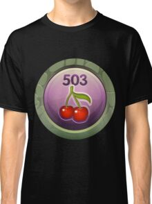 Glitch Achievement midmanagement fruit tree harvester Classic T-Shirt