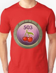 Glitch Achievement midmanagement fruit tree harvester Unisex T-Shirt