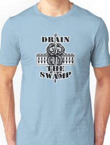 Drain The Swamp - Official White House Trump Logo Unisex T-Shirt