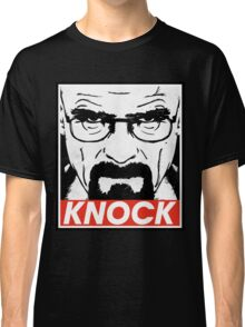 Heisenberg Breaking Bad Fanart - Knock by Mien Wayne Classic T-Shirt