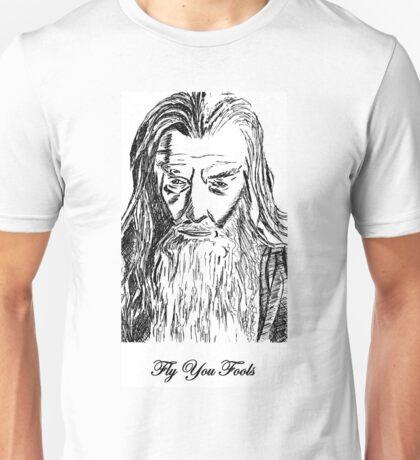 Gandalf - Fly You Fools Unisex T-Shirt